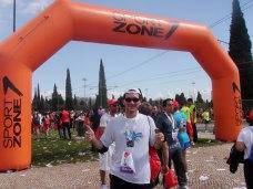 Chegada e Comemoração da Meia Maratona de Lisboa 2010